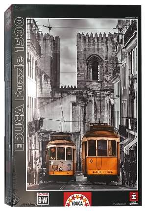 Пазл Educa Район Альфама Лиссабон 1500 деталей
