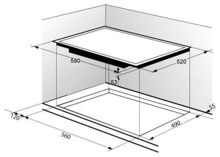 Встраиваемая варочная панель газовая Zigmund & Shtain MN 115.61 W White