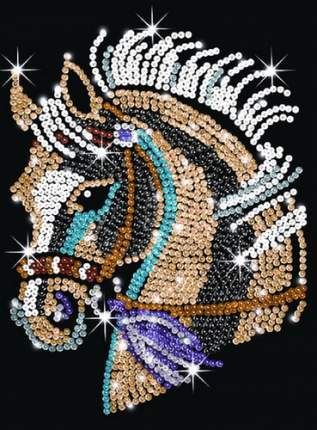 Мозаика из блесток KSG Лошадь (2790)