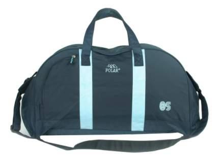 Дорожная сумка Polar Г-269 синяя/голубая 60 x 33 x 27