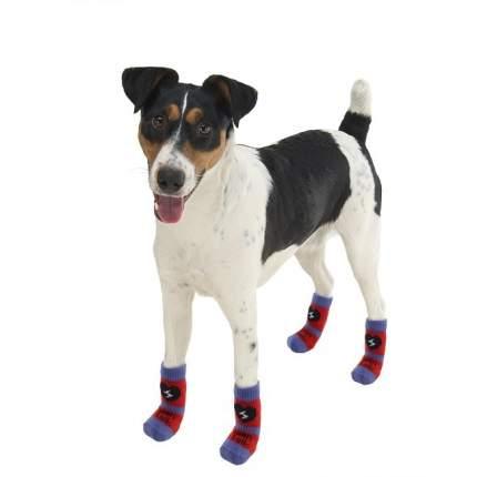 Носки для собак Ferplast размер L, 4 шт разноцветный