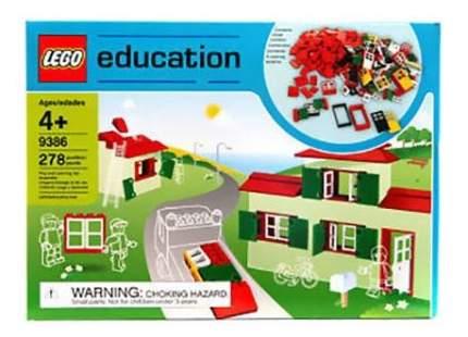 Конструктор LEGO Окна, двери и черепица для крыши