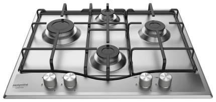 Встраиваемая варочная панель газовая Hotpoint-Ariston 642 PCN T/IX/HAR Silver