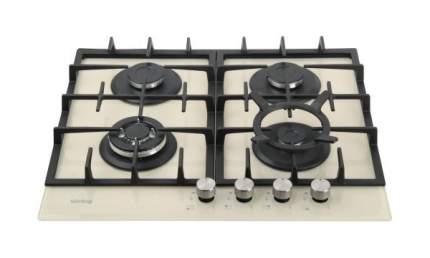 Встраиваемая варочная панель газовая Korting HGG 635 CTB Beige