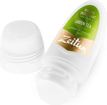 """Дезодорант Zeitun """"Зеленый чай"""" шариковый с коллоидным серебром"""