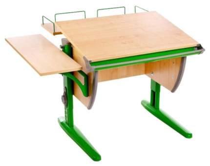 Парта Дэми СУТ-14-02 с задней и боковой приставками Клен Зеленый