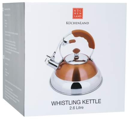 Чайник для плиты Kuchenland WKXF020 2.6 л