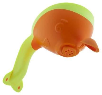 Ковшик для купания Roxy-Kids Flipper с лейкой Оранжевый