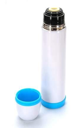 Термос Regent Promo 1 л белый/голубой