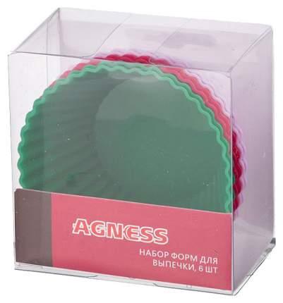 Набор форм Agness 710-269 Зеленый, красный, лиловый