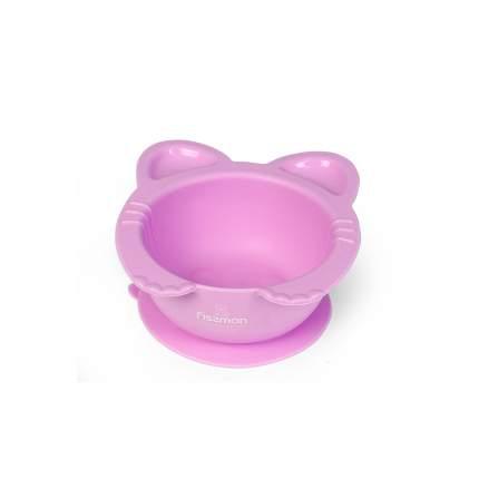 Глубокая тарелка Fissman Кошки на присоске 15х14х6 см 9603