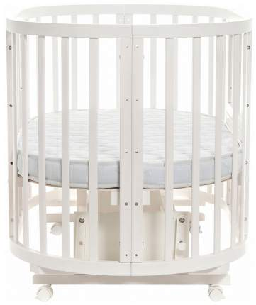 Круглая кроватка-трансформер Noony Cozy