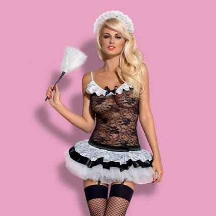 Костюм горничной Obsessive Housemaid L-XL