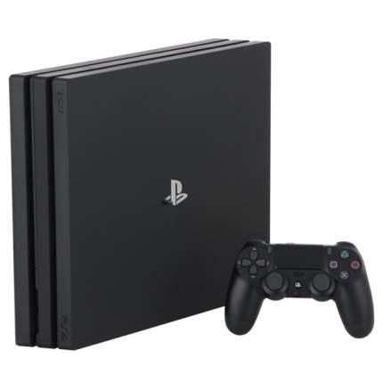 Игровая приставка PlayStation Sony 4 Pro 1TB Black+Horizon Zero Dawn/God Of War CUH-7208B