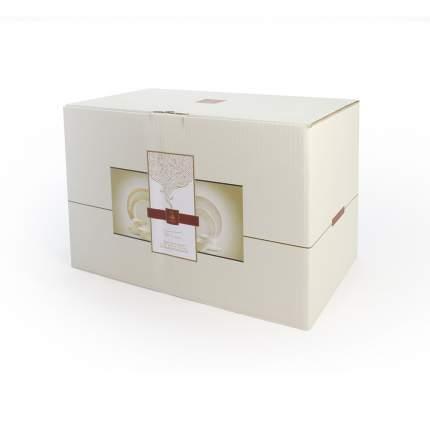 Столовый сервиз АККУ Милена 20 предметов на 6 персон костяной фарфор