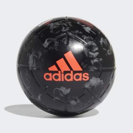 Футбольный мяч Adidas Capitano Manchester United FC №5 black/grey three/app solar red
