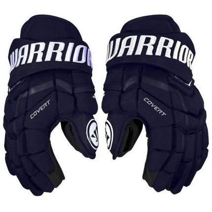 Перчатки хоккейные Warrior QRE3, 11 синие