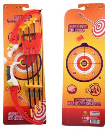 Лук со стрелами на присосках, в наборе 3 стрелы с держателем и лук
