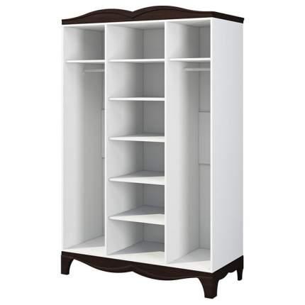 Платяной шкаф Мебель-Неман Тиффани NEM_tiffany_MH-122-03 142x62x220, белый/венге