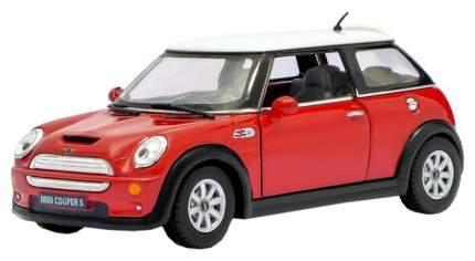 Машина металлическая Mini Cooper S, масштаб 1:28, открываются двери, инерция Kinsmart