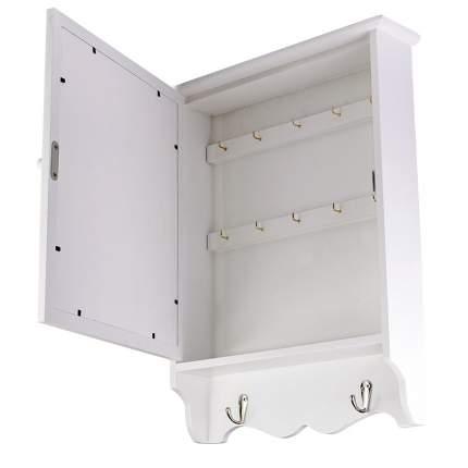 ML-4740 Ключница белая с дверцей (32.5x8x42 см.) /4