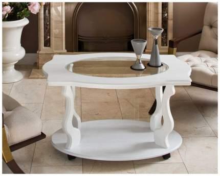 Журнальный столик Мебелик Берже 1С П0001512 94х60х56 см, белый ясень