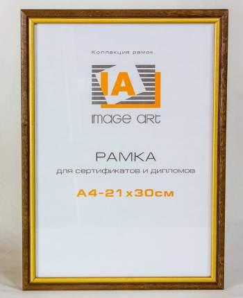 Деревянная фоторамка А4 (21х30 см) грецкий орех с окантовкой