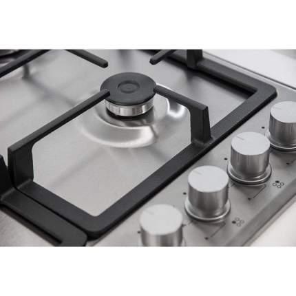 Встраиваемая варочная панель газовая Monsher MKFG 60825I01 Silver