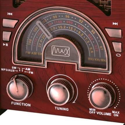 Радиоприемник MAX MR-410 Wood