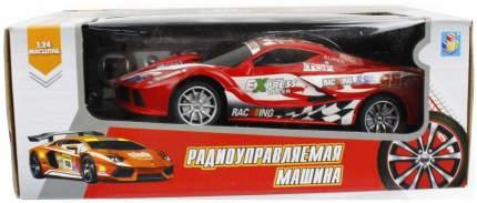 Радиоуправляемая машинка 1 Toy Спортавто Т13845 Красный
