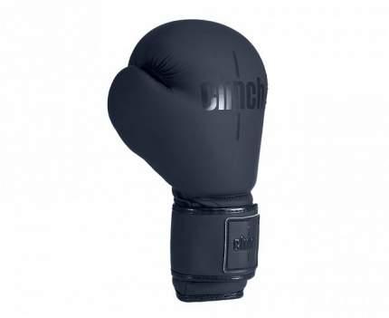 Боксерские перчатки Clinch Mist черные 10 унций
