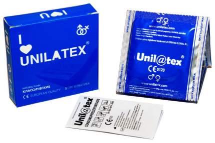 Презервативы Unilatex Natural Plain 3 шт.