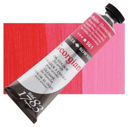 Масляная краска Daler Rowney Georgian розовый квинакридон 75 мл