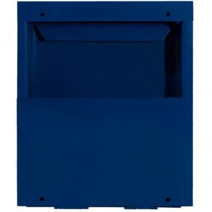 Ящик почтовый с замком синий 32х26х9 см