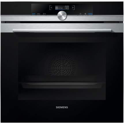Встраиваемый электрический духовой шкаф Siemens HB675G0S1 Black