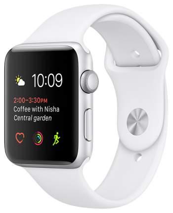 Смарт-часы Apple Watch Series 2 38mm Silver Al/White (MNNW2RU/A)