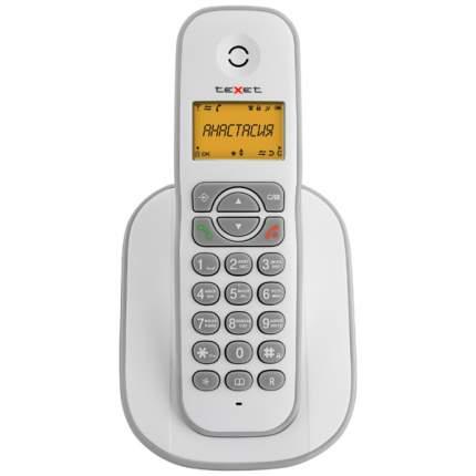 Телефон DECT teXet ТХ-D4505A White/Grey