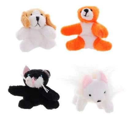 Мягкая игрушка Beanzees B34021 Мини плюш в наборе Мышка, Котик, Медведь, Песик
