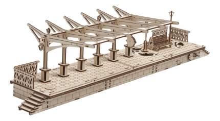 Сборная модель конструктор UGEARS Перрон