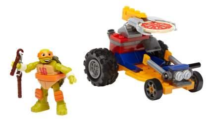 Конструктор пластиковый Mega Bloks® Черепашки – гонщики DMX36 DMX38