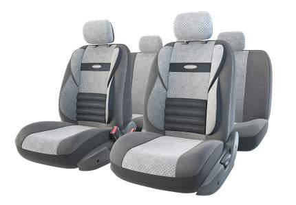 Комплект чехлов на сиденья Autoprofi Comfort Combo CMB-1105 D.GY/L.GY (M)