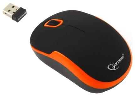 Беспроводная мышка Gembird MUSW-200BKO Orange/Black