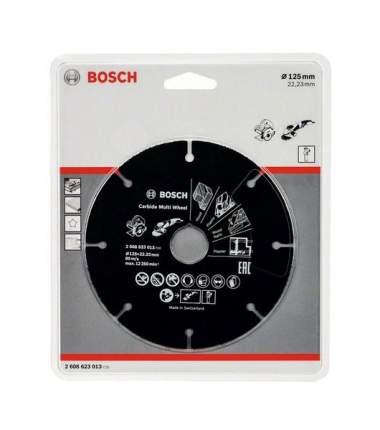 Отрезной диск по дереву для угловых шлифмашин Bosch 125х22.23мм 2608623013