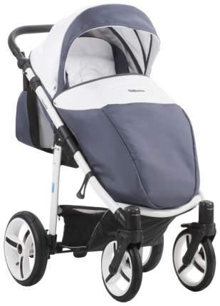 Прогулочная коляска Mr Sandman Traveler Белый Серо-синий MR09