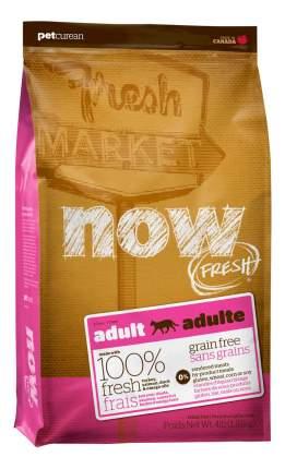 Сухой корм для кошек NOW Fresh GF, беззерновой, индейка, утка, овощи, 7,26кг