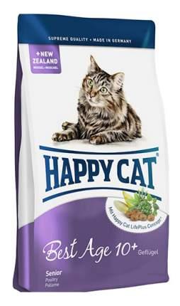 Сухой корм для кошек Happy Cat Fit & Well Best Age 10+ Senior, ягненок,курица,лосось, 4кг