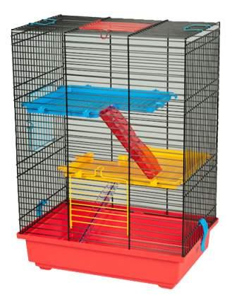 Клетка для дегу, крыс, морских свинок, мышей, хомяков INTER-ZOO 51х25х37см