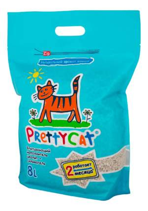 Наполнитель для туалета Pretty Cat впитывающий 8 л Тропические фрукты