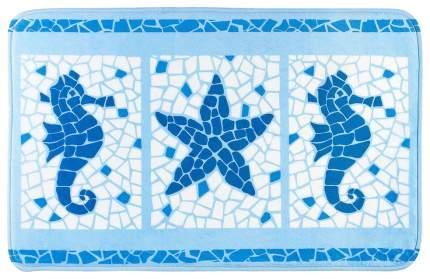 Коврик для ванной Tatkraft Marine Motifs 14916 Голубой
