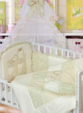 Комплект в кроватку Золотой гусь Кошки-Мышки бежевый